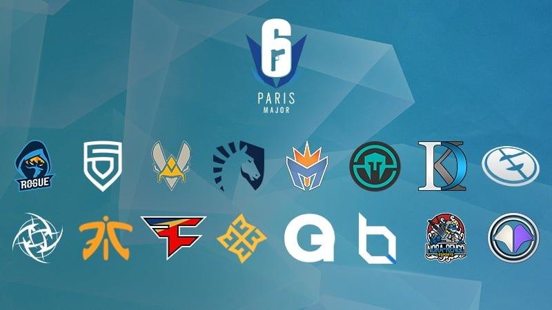 Veja como ficaram os grupos do Six Major Paris 2018 de Rainbow Six