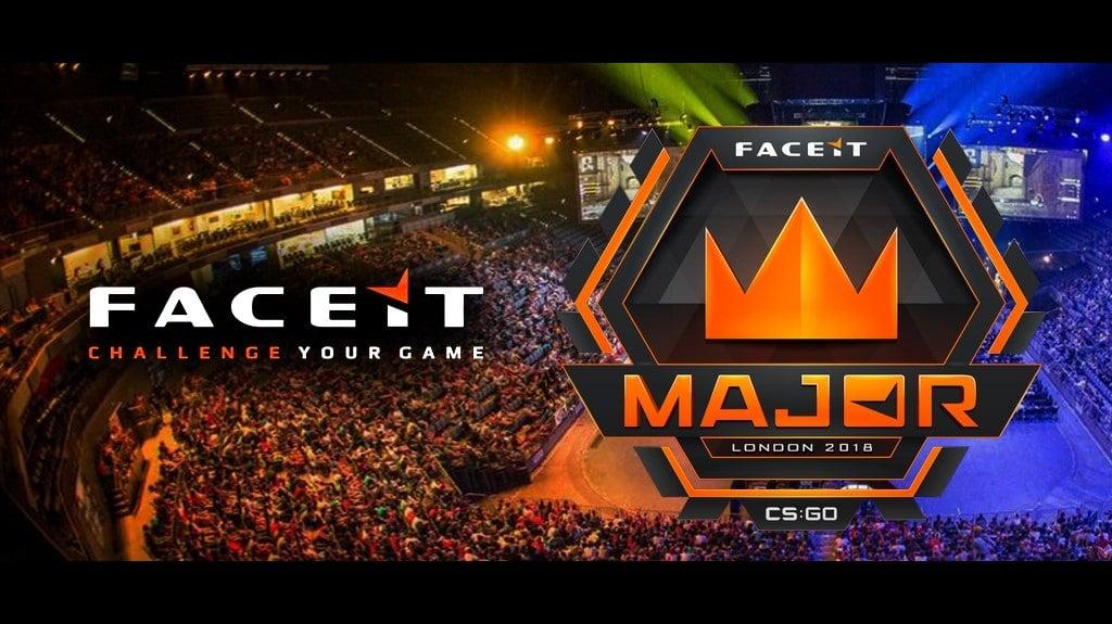 FACEIT Major 2018 trará mudanças no formato das partidas