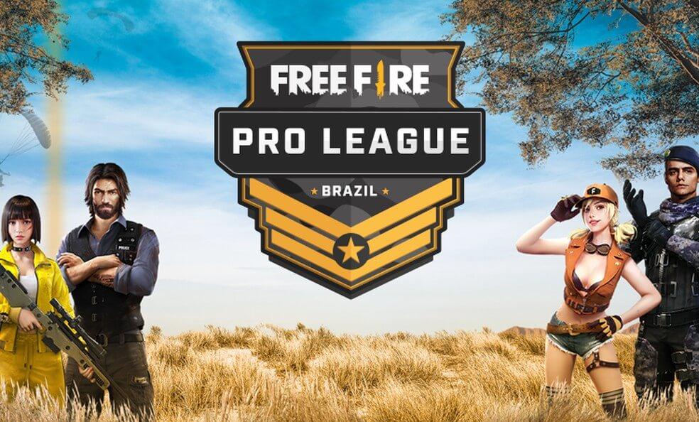 free fire pro league