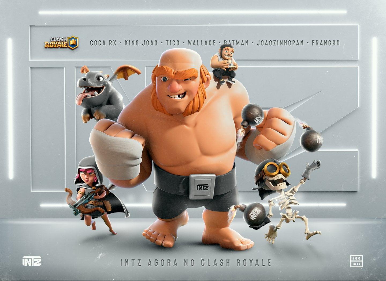 INTZ anuncia sua nova lineup de Clash Royale