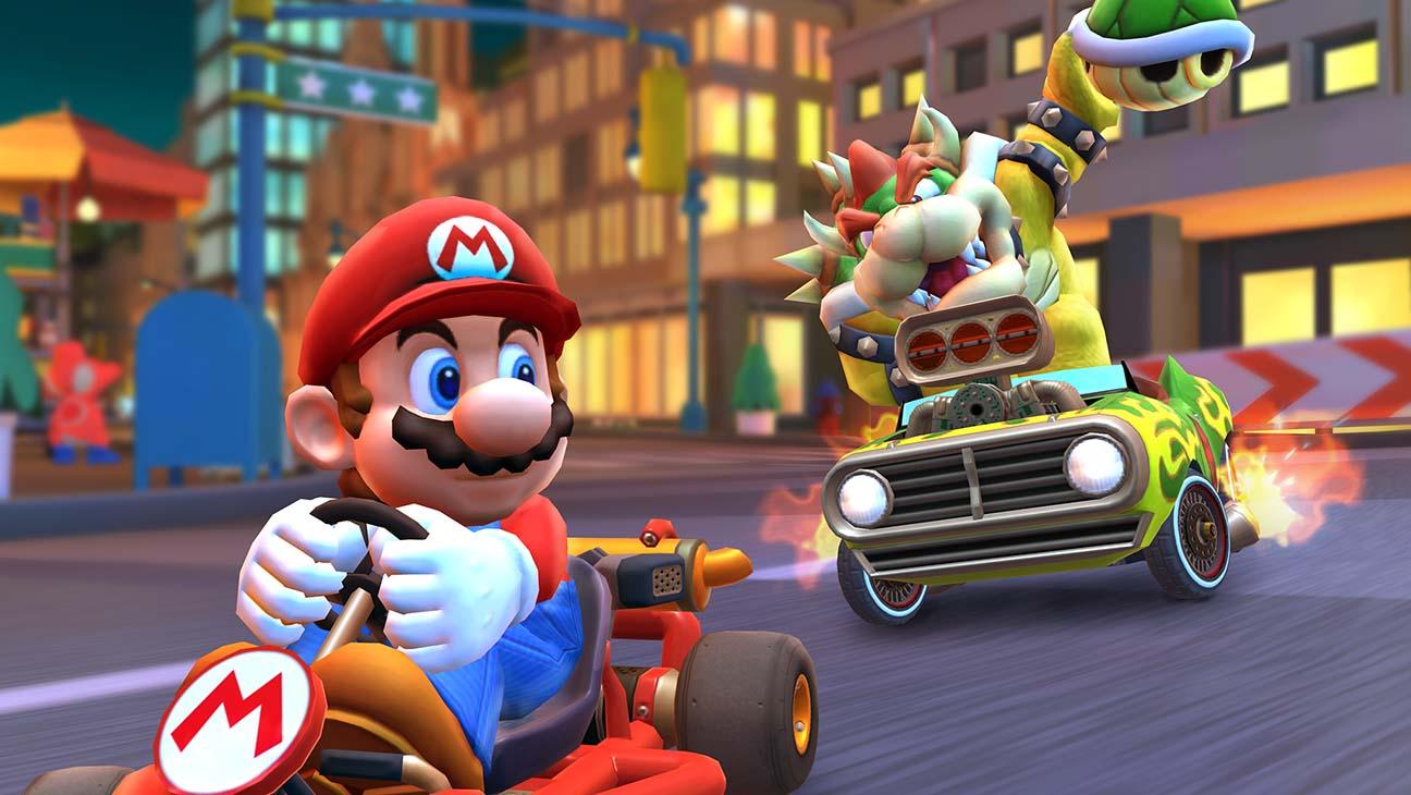 Sucesso da primeira semana de Mario Kart Tour bate recorde na Nintendo