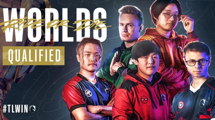 lcs Team Liquid Worlds 2020