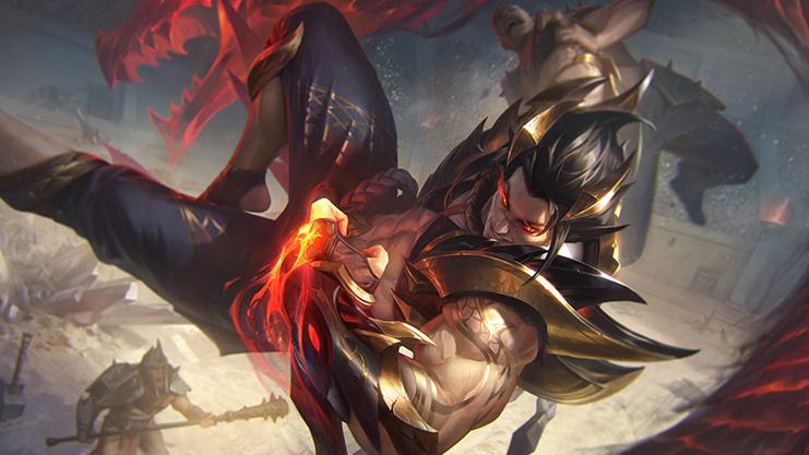 Sett Dragão de Obsidiana novas skins