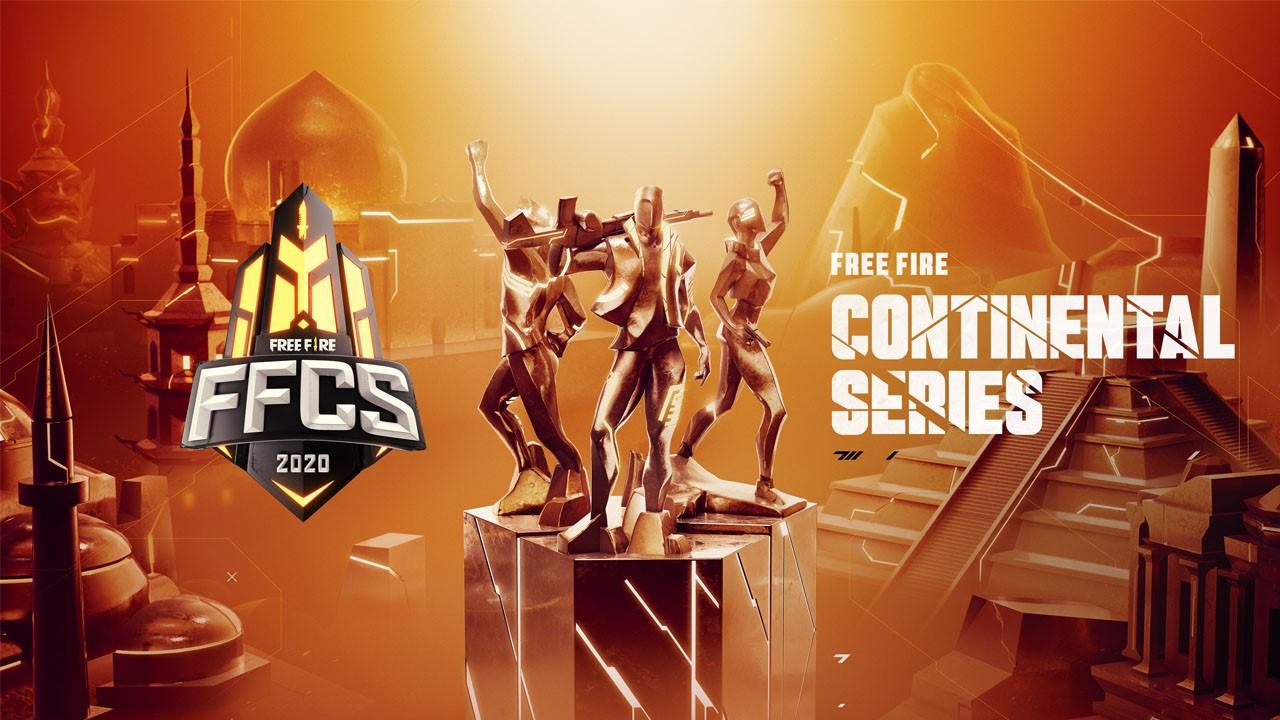 Confira mais detalhes sobre a Free Fire Continental Series