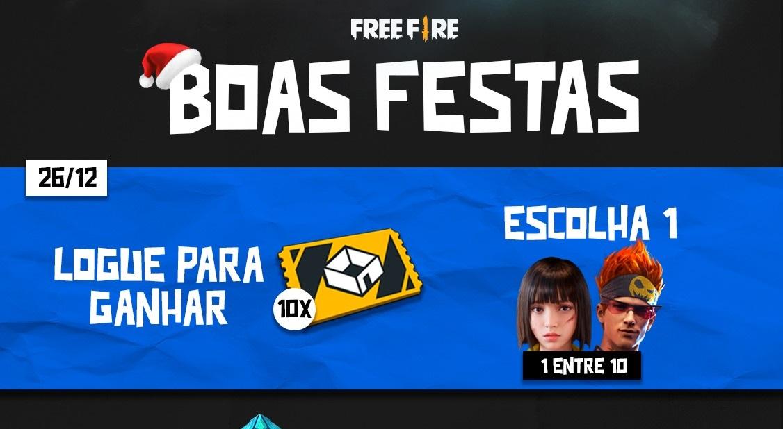 Free Fire: Jogadores receberão sala personalizada em evento de Natal