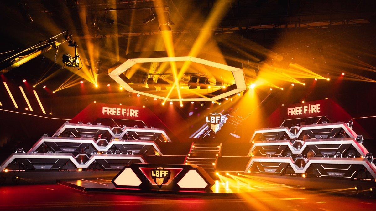 Free Fire: Garena revela grupos da LBFF 5