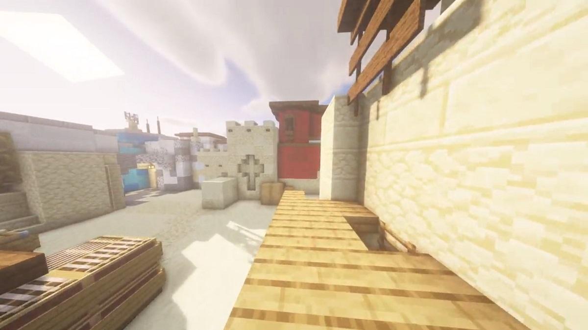 CS:GO: Jogador recria Mirage no Minecraft