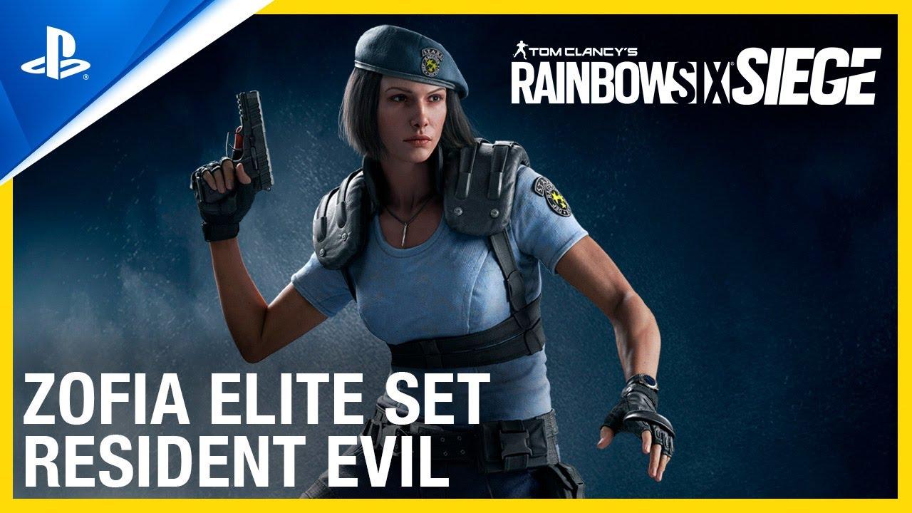 Skin de Jill Valentine, de Resident Evil, chega ao Rainbow Six Siege