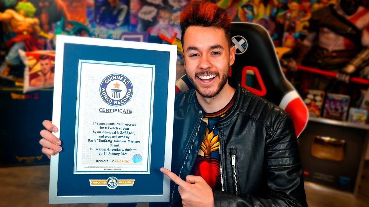 Fortnite: TheGrefg entra para o Guinness World Records
