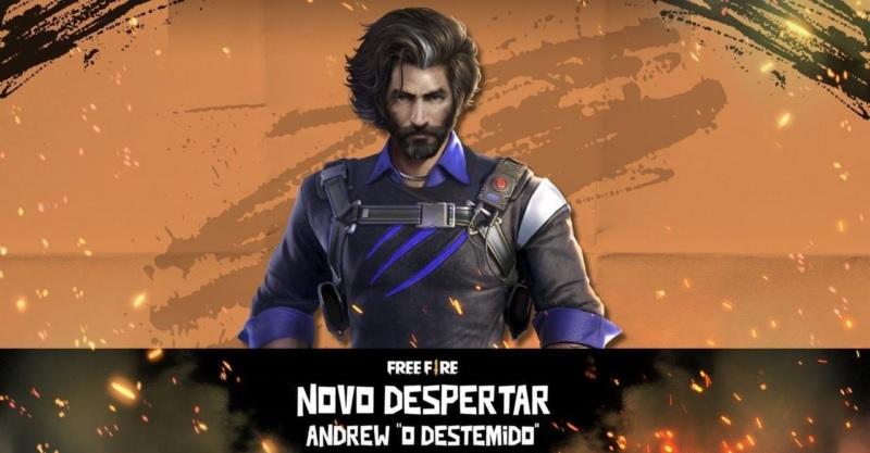Free Fire: Nova versão de Andrew será lançada no fim de maio