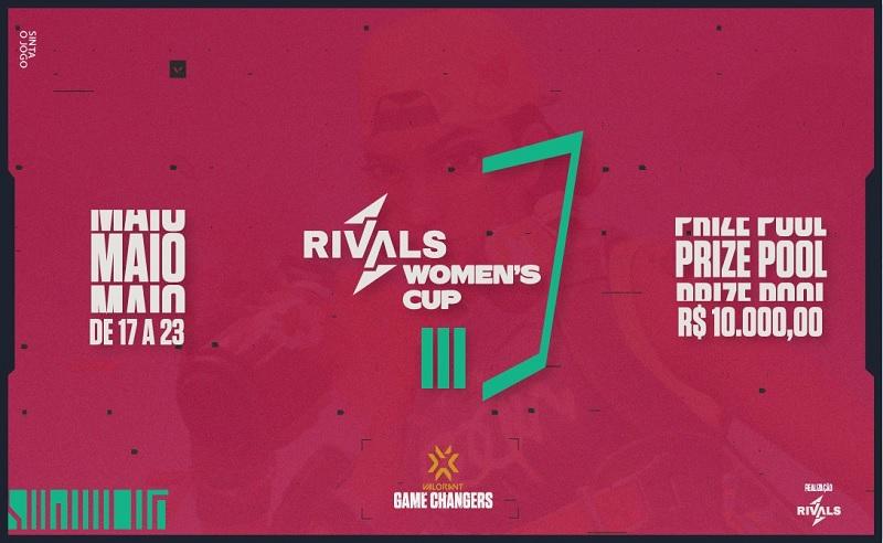 VALORANT: Com R$ 10 mil em prêmios, Rivals Women's Cup será o próximo torneio apoiado pela Riot