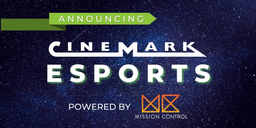 Cinemark dos Estados Unidos passará a exibir esportes eletrônicos