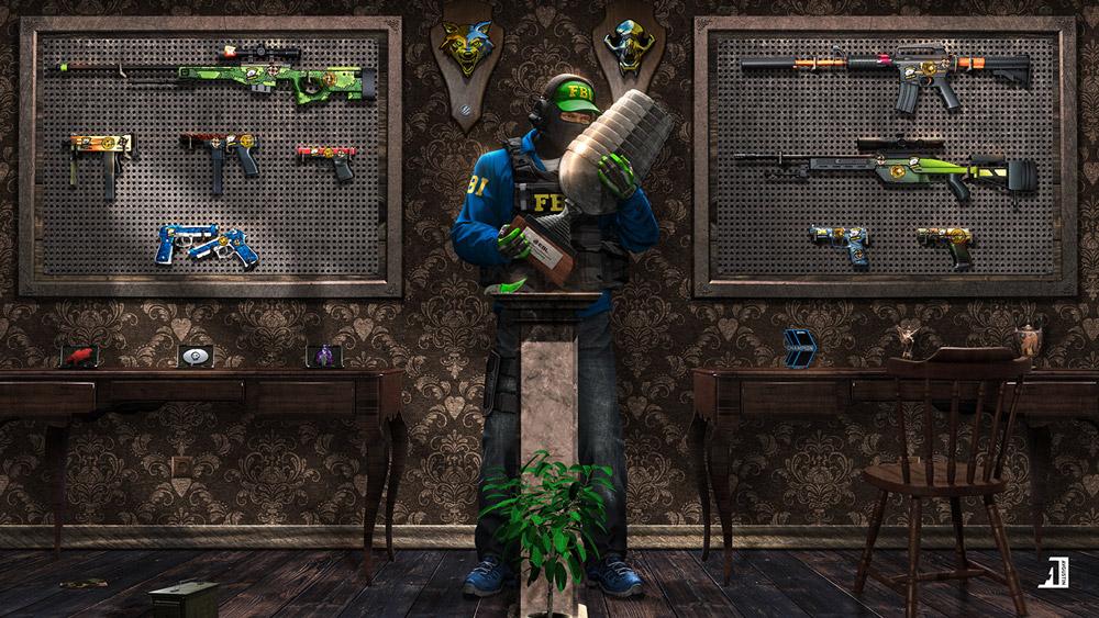 Teste seus conhecimentos em Counter-Strike