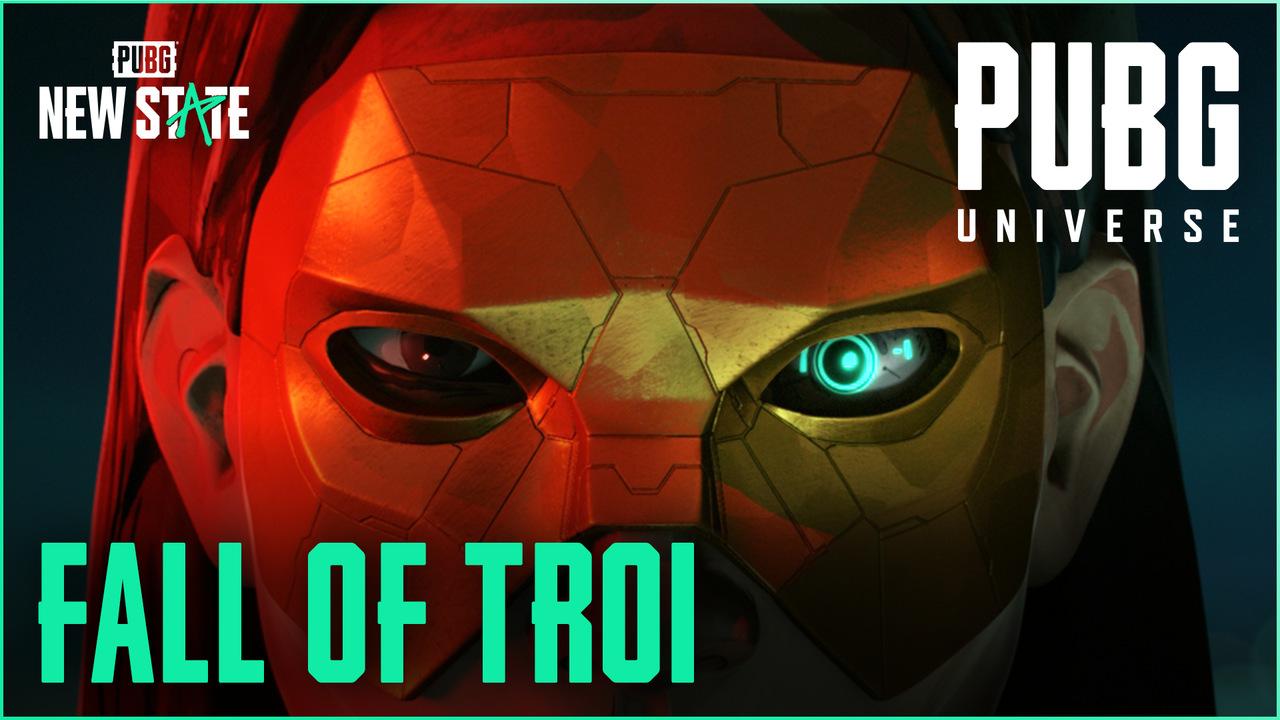 PUBG: NEW STATE: Novo vídeo, Fall of Troi, aprofunda história do game