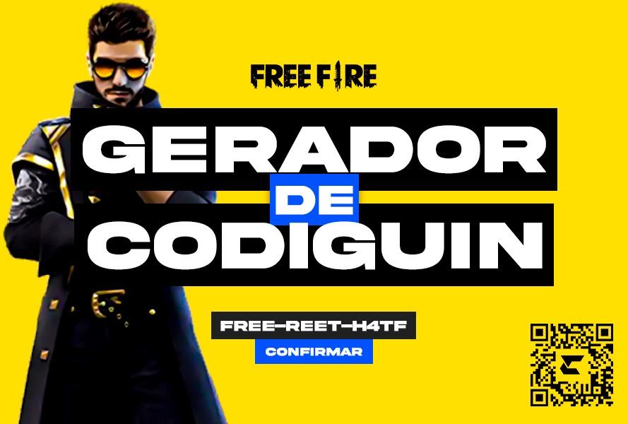 Gerador de codiguin para Free Fire