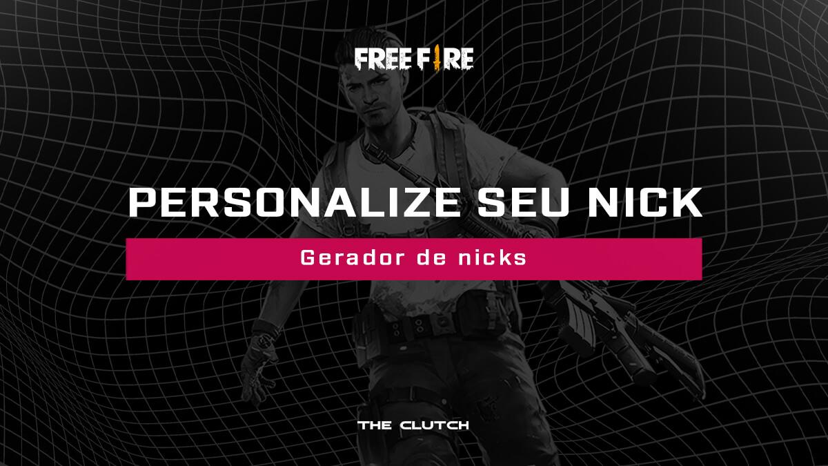 Gerador de nicks para Free Fire: personalize seu nome