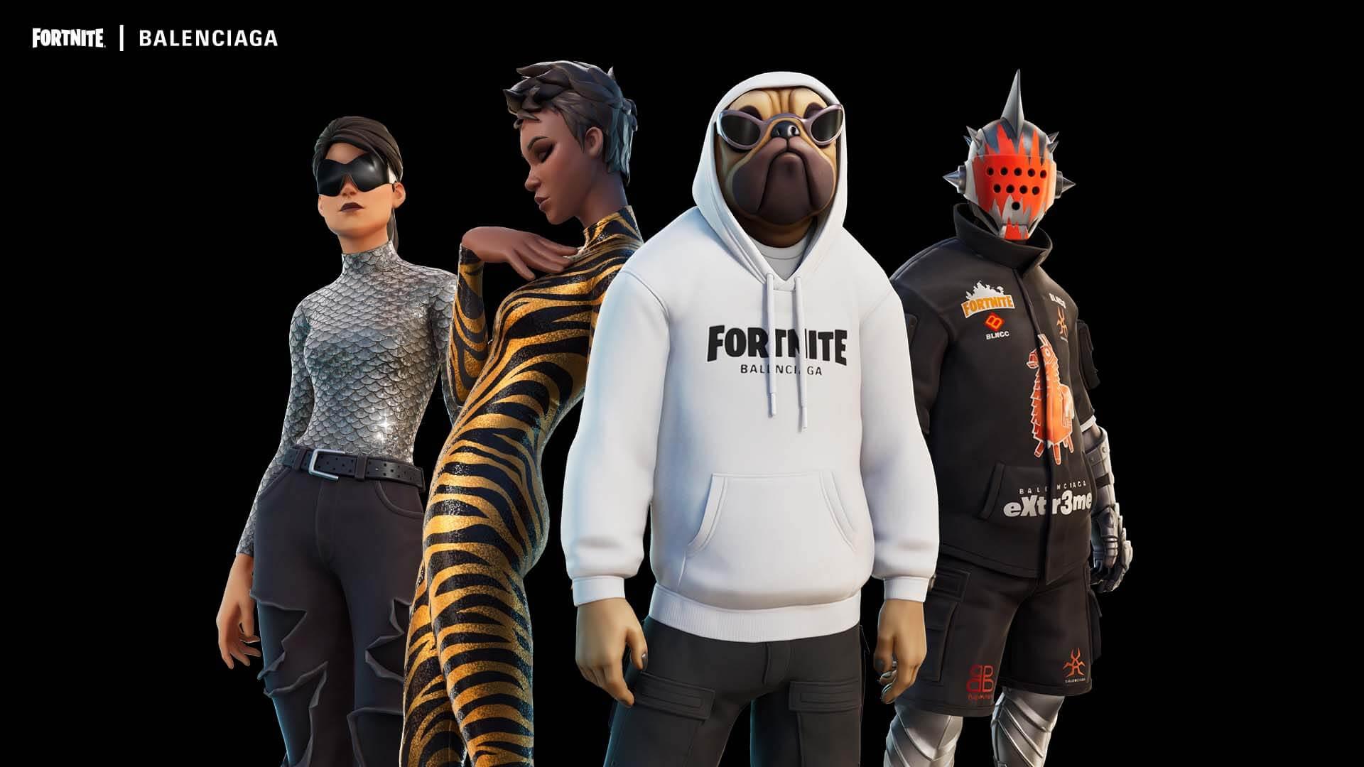 Fortnite: Epic lança conjunto de skins em parceria com Balenciaga