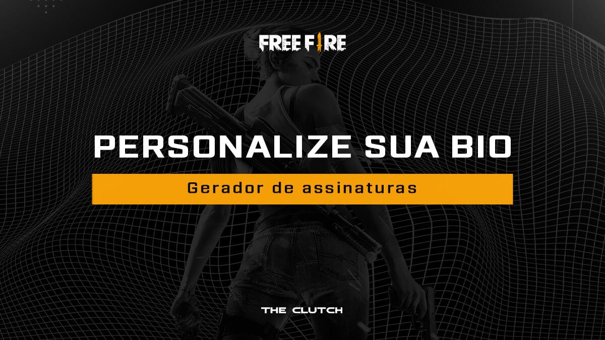 Gerador de assinaturas para Free Fire: personalize sua bio