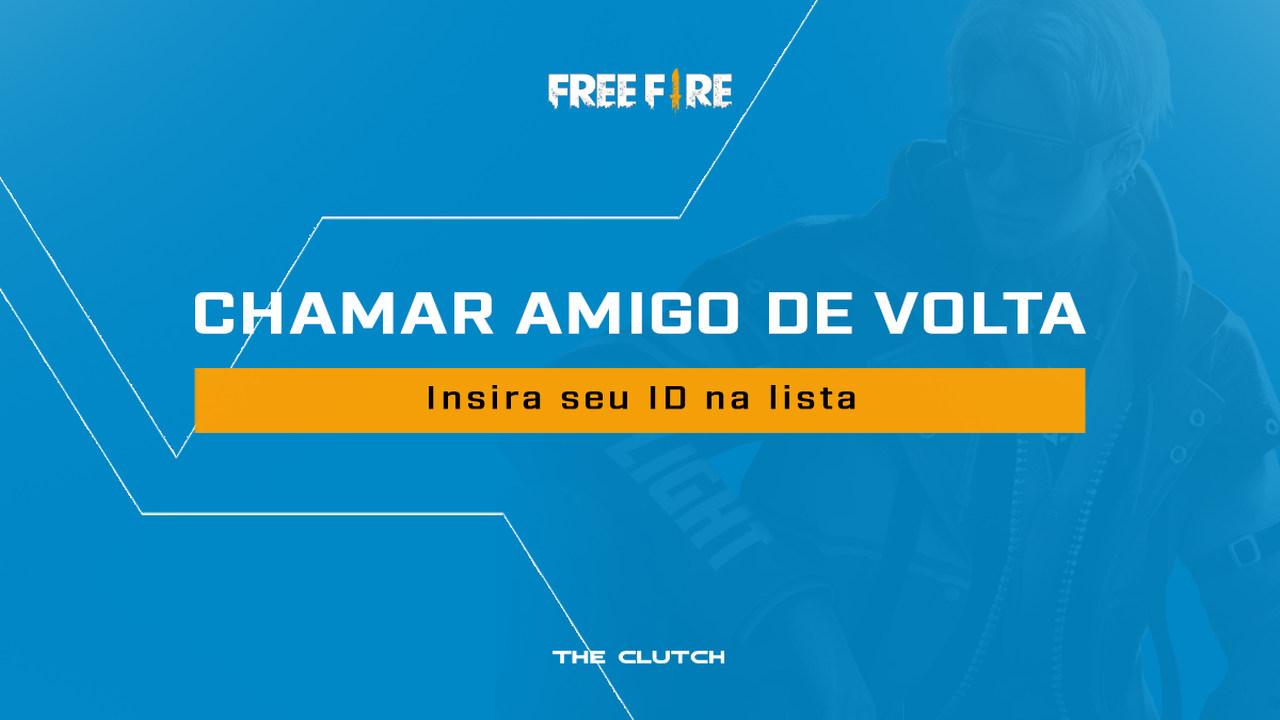 Free Fire: Confira nossa ferramenta para chamar amigo de volta